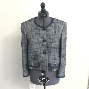 Frankie morello Milan Italy navy blazer 40/XS